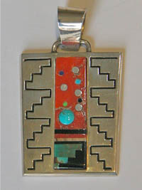 Pendant by Abraham Begay