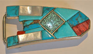 Belt Buckle by Ted Draper