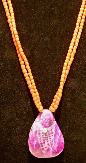 Corn Maiden Necklace by Jovanna Poblano